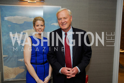 Melissa Brown, Chris Matthews,,April17,2012,Reception for The  Museum Of The American Revolution,Kyle Samperton