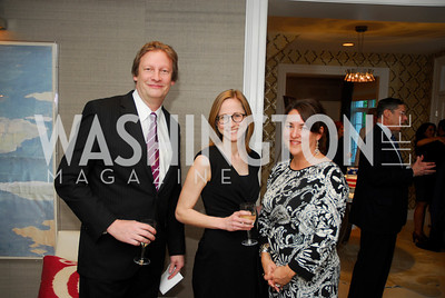 David Morey,Frances Cox.Kristian Smith,April17,2012,Reception for The  Museum of the American Revolution ,Kyle Samperton