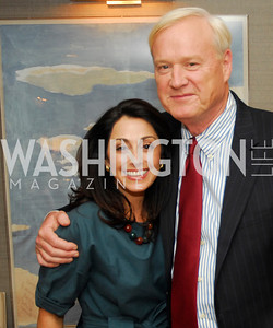 Lindsay Ellenbogen, Chris Matthews,,April17,2012,Reception for The  Museum Of The American Revolution,Kyle Samperton