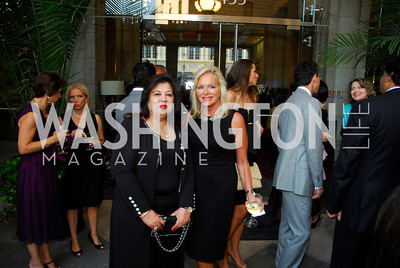 Shaista Mamood,Debbie Sigmund,September 12,2012,Reception for Foundation for Afghanistan,Kyle Samperton