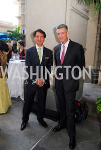 Said Jawad,Amb.Richard Olson,September 12,2012,Reception for Foundation for Afghanistan,Kyle Samperton