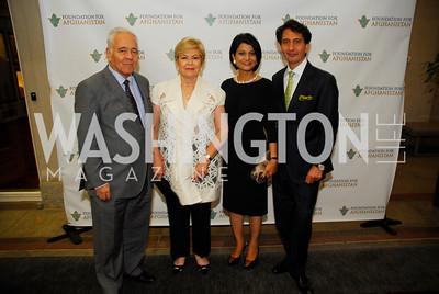 Gonzalo Sanchez deLozada,Ximena Sanchez deLozada,Shamin Jawad, Said Jawad,September 12,2012,Reception for Foundation for Afghanistan,Kyle Samperton