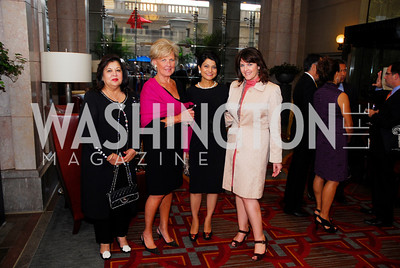 Shaista Mamood,Leslie Schweitzer,Shamin Jawad,Rachel Pearson,September 12,2012,Reception for Foundation for Afghanistan,Kyle Samperton