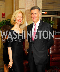 Bonnie McElveen Hunter,Amb.Richard Olson,September 12,2012,Reception for Foundation for Afghanistan,Kyle Samperton