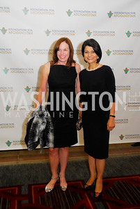 Carole Feld,Shamin Jawad,September 12,2012,Reception for Foundation for Afghanistan,Kyle Samperton