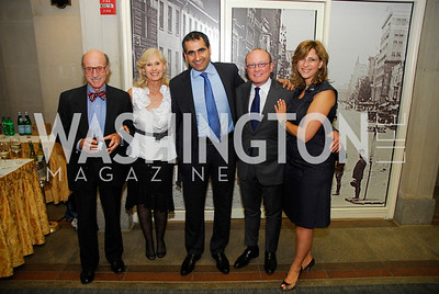 Finley Lewis,Willee LewisOmar Al-Shanisi,Franco Nuchese,Dima Al-Fahham,September 12,2012,Reception for Foundation for Afghanistan,Kyle Samperton