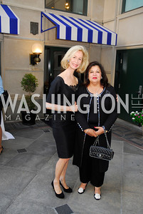 Bonnie McElveen Hunter,Shaista Mamood,September 12,2012,Reception for Foundation for Afghanistan,Kyle Samperton