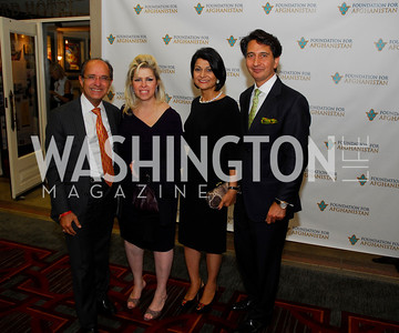 Jack Abraham,Nora Abraham,Shamin  Jawad, Said Jawad,September 12,2012,Reception for Foundation for Afghanistan,Kyle Samperton