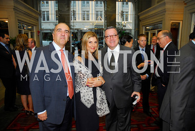 Reza Jahanbani,Fariba Jahanbani,Amb.Gilles Noghes,,September 12,2012,Reception for Foundation for Afghanistan,Kyle Samperton
