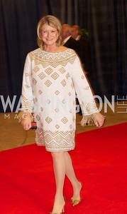 Martha Stewart at the White House Correspondents Dinner Red Carpet at the Washington Hilton.  Photo by Ben Droz