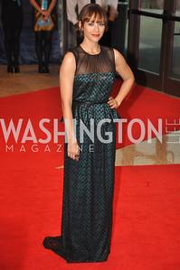 Rashida Jones. White House Correspondents Dinner Red Carpet at the Washington Hilton.  Photo by Ben Droz