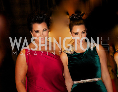 Kris Jenner and Kim Kardashian White House Correspondents Dinner Red Carpet at the Washington Hilton.  Photo by Ben Droz