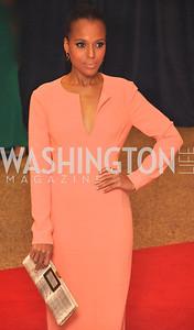 Kerry Washington.  White House Correspondents Dinner Red Carpet at the Washington Hilton.  Photo by Ben Droz