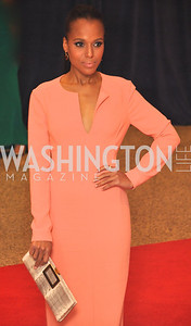 Kerry Washington.  White House Correspondents Dinner Red Carpet at the Washington Hilton.  Photo by Ben Droz
