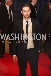 Chase Crawford White House Correspondents Dinner Red Carpet at the Washington Hilton.  Photo by Ben Droz