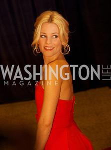 Elizabeth Banks White House Correspondents Dinner Red Carpet at the Washington Hilton.  Photo by Ben Droz
