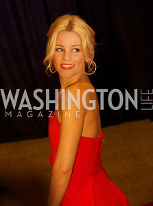 Elizabeth Banks White House Correspondents Dinner Red Carpet at the Washington Hilton.  Photo by Ben Droz