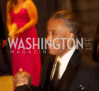 Reverend Al Sharpton.White House Correspondents Dinner Red Carpet at the Washington Hilton.  Photo by Ben Droz