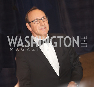 Kevin Spacey White House Correspondents Dinner Red Carpet at the Washington Hilton.  Photo by Ben Droz