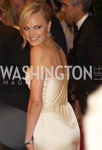 Malin Akerman White House Correspondents Dinner Red Carpet at the Washington Hilton.  Photo by Ben Droz