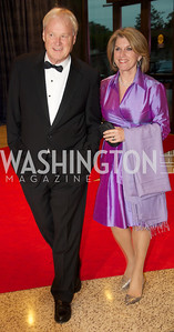 Chris and Kathleen Matthews at the White House Correspondents Dinner Red Carpet at the Washington Hilton.  Photo by Ben Droz