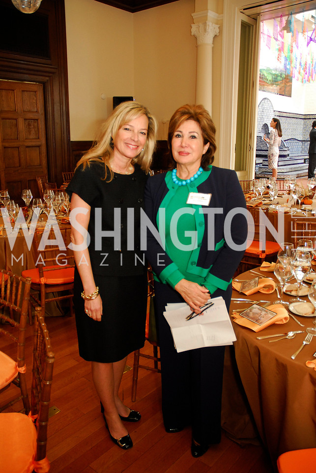 Mariella Trager Maha Kadoura,October 25,2012, Refugees International Washington Circle Luncheon,Kyle Samperton