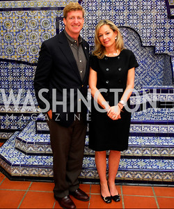 Patrick Kennedy,Mariella Trager,October 25,2012, Refugees International Washington Circle Luncheon,Kyle Samperton