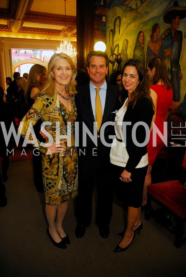 Sydney Johnson,Amb.Stuart Holiday,Gwen Holiday,October 25,2012, Refugee's International Washington Circle Luncheon,Kyle Samperton