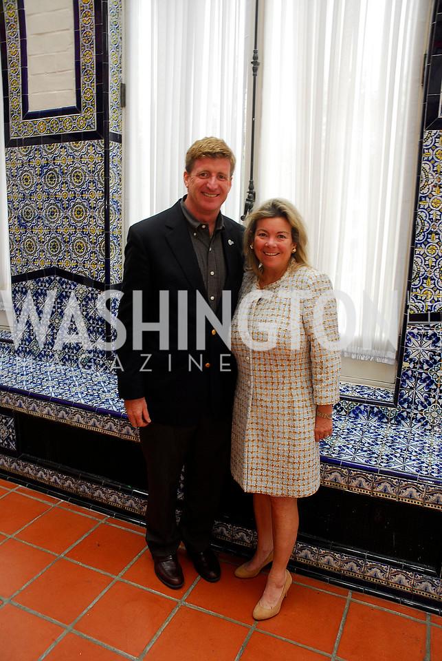 Patrick Kennedy,Linda Donovan,October 25,2012, Refugees International Washington Circle Luncheon,Kyle Samperton