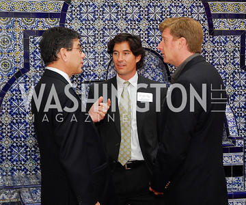Michel Gabaudan,Marc Hanson,Patrick Kennedy,October 25,2012, Refugees International Washington Circle Luncheon,Kyle Samperton