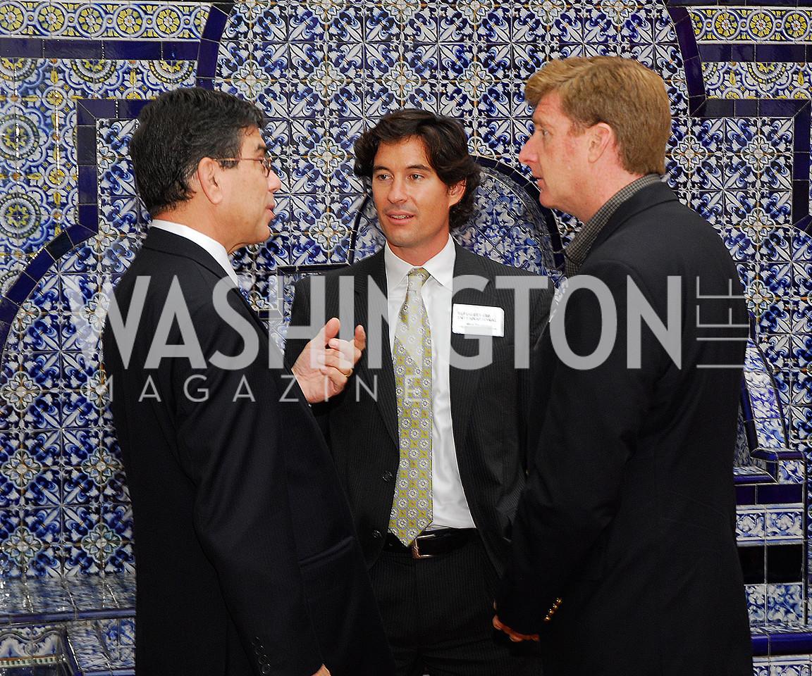 Michel Gabaudan,Marc Hanson,Patrick Kennedy,October 25,2012, Refugees International Washington Circle Luncheon,Kyle Samperton