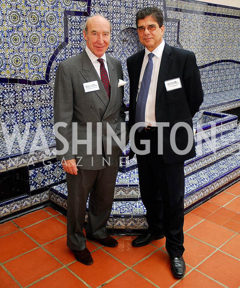 Amb.Joris Vos,Michel Gabaudan,October 25,2012, Refugees International Washington Circle Luncheon,Kyle Samperton