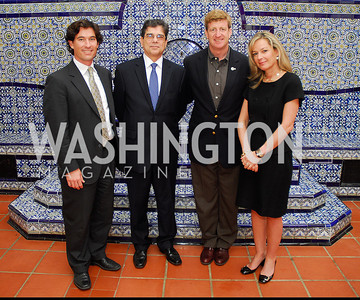 Marc Hanson,Michel Gabaudan,Patrick Kennedy,Mariella Trager,October 25,2012, Refugees International Washington Circle Luncheon,Kyle Samperton