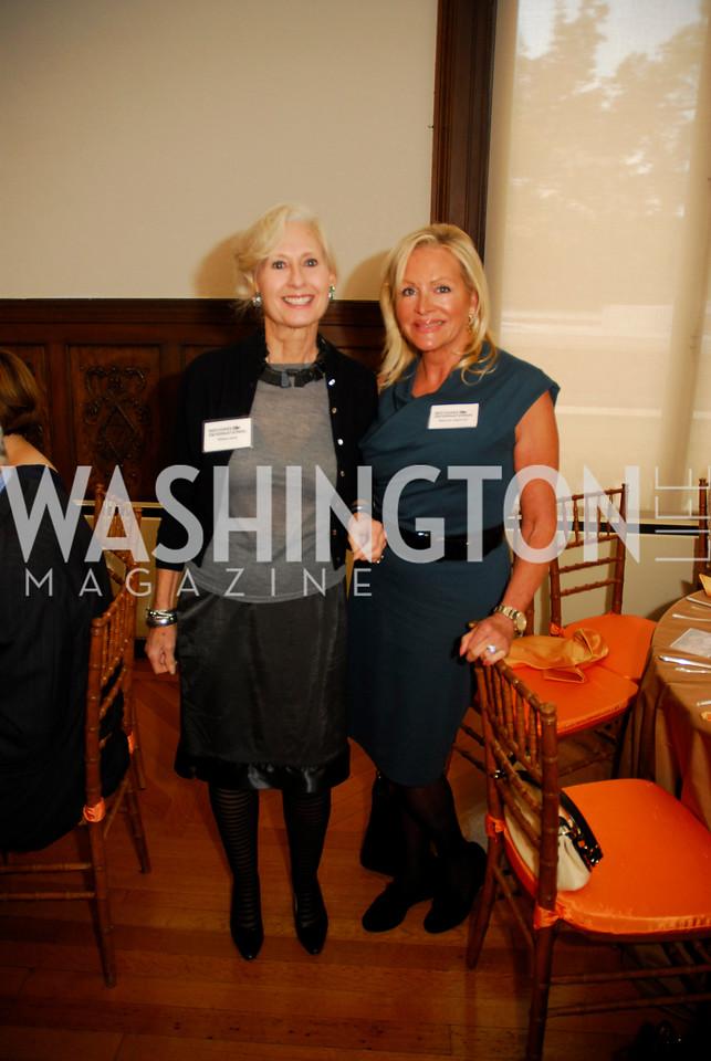 Willee Lewis,Deborah Sigmund,October 25,2012, Refugee's International Washington Circle Luncheon,Kyle Samperton