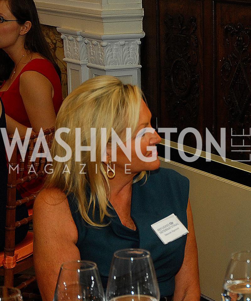 Deborah Sigmund,October 25,2012, Refugees International Washington Circle Luncheon,Kyle Samperton