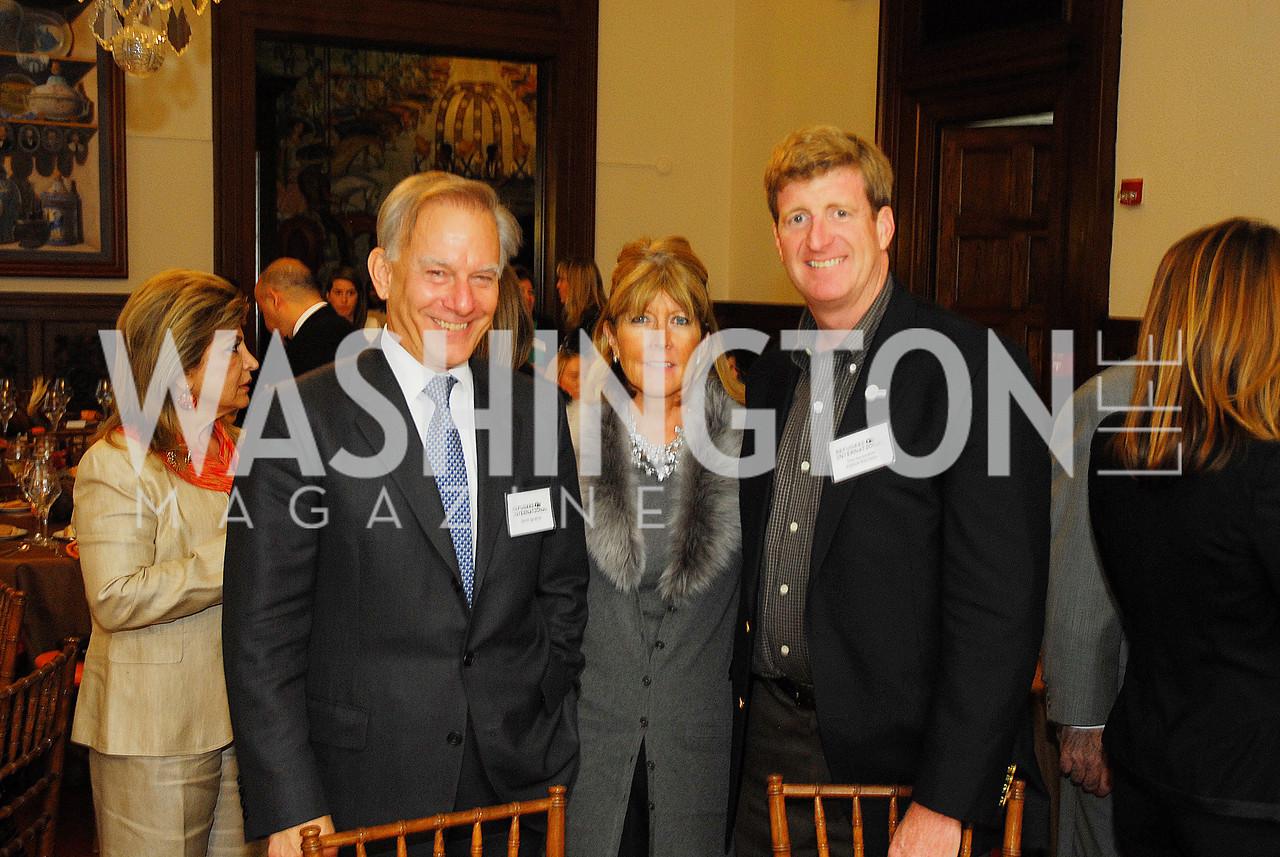 David Ignatius,Ginny Grenham,Patrick KennedyOctober 25,2012, Refugees International Washington Circle Luncheon,Kyle Samperton