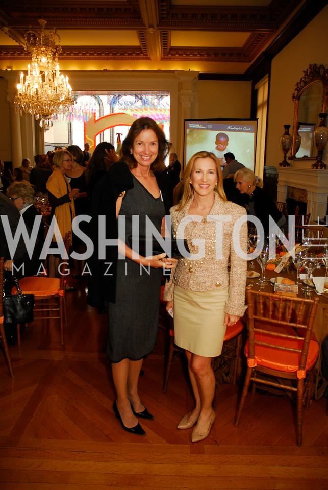 Frederica Valanos,Meg Clerc,October 25,2012, Refugee's International Washington Circle Luncheon,Kyle Samperton