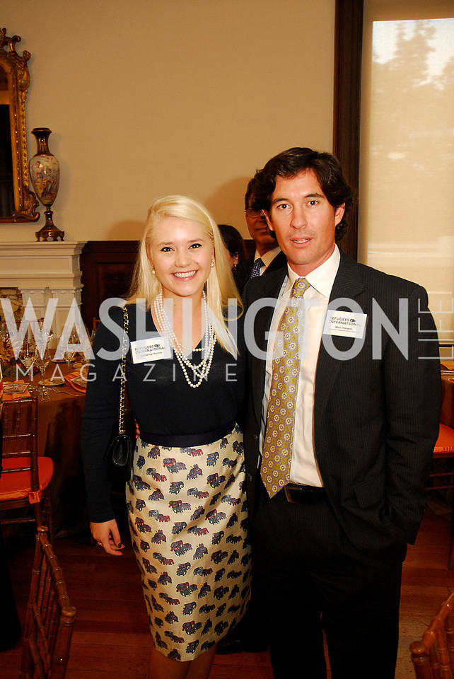 Katherine Wynne,Marc Hanson,October 25,2012, Refugees International Washington Circle Luncheon,Kyle Samperton