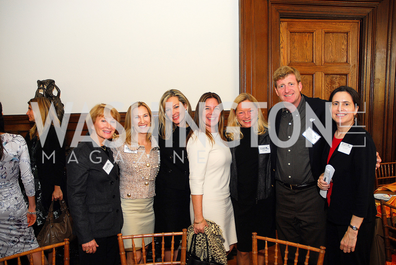 Catherine Lagot,Meg Clerc,Mariella Trager,Sandra GonzalezEllen Noghes,Patrick Kennedy,Daryl Grisgraber,October 25,2012, Refugees International Washington Circle Luncheon,Kyle Samperton