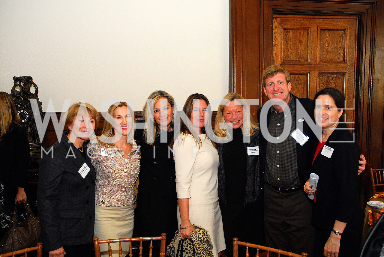 Catherine Lagot,Meg Clerc,Mariella Trager,Sandra Gonzalez,Ellen Noghes,Patrick Kennedy,Daryl Grisgraber,October 25,2012, Refugees International Washington Circle Luncheon,Kyle Samperton
