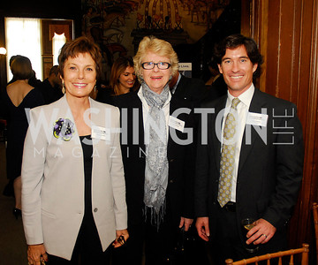 Maureen Orth,Diana Walker,Marc Hanson,October 25,2012, Refugee's International Washington Circle Luncheon,Kyle Samperton