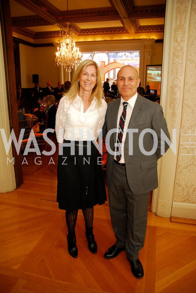 Eileen Shields West,Marc Neuman,October 25,2012, Refugees International Washington Circle Luncheon,Kyle Samperton