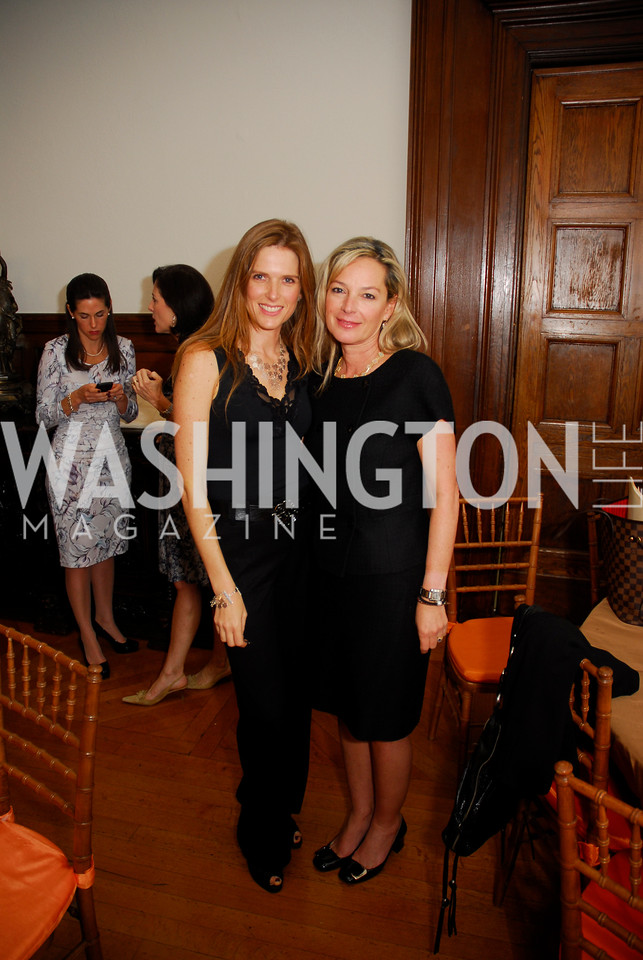 Deanna Moss,Mariella Trager,October 25,2012, Refugees International Washington Circle Luncheon,Kyle Samperton