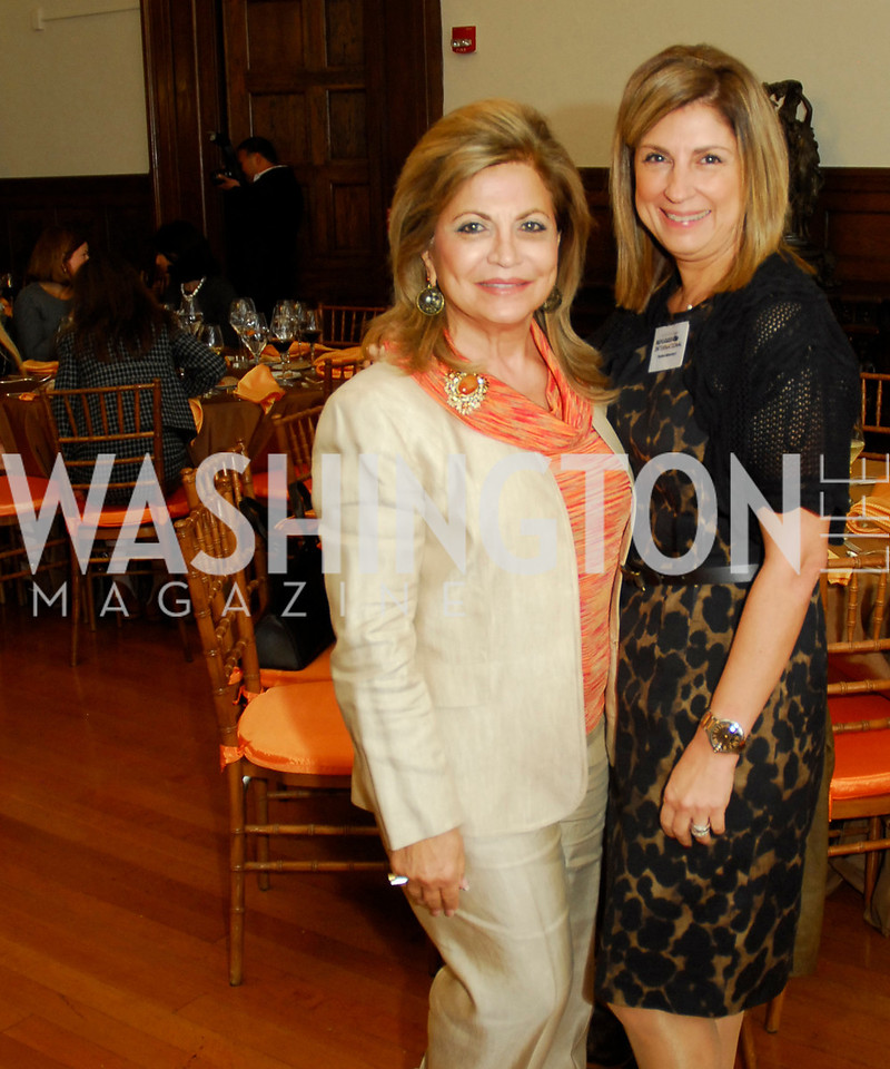 Annie Totah,Fariba Jahanbani,October 25,2012, Refugees International Washington Circle Luncheon,Kyle Samperton
