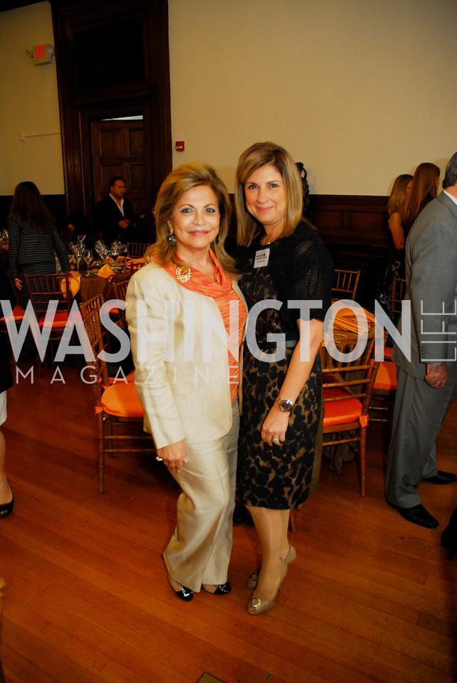 Annie Totah,Fariba Jahanbani,October 25,2012, Refugees International Washington Circle Luncheon,Kyle Samperton