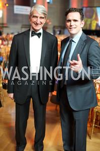 Sam Waterston and Matt Dillon. Photo by Ben Droz.
