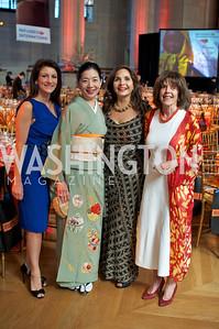 Jodi Bond,  Yoriko Fujisaki, Samia Farouki, Didi Culter. Photo by Ben Droz.