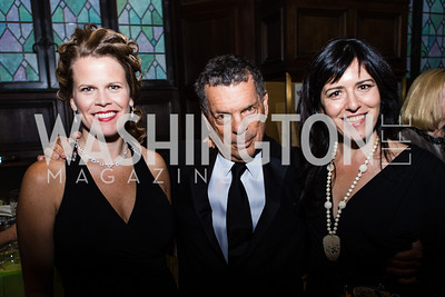 Heather Reams, Conrad Cafritz, Nora Maccoby-Hathaway. Resilience Gala Pen Faulkner Award for Fiction. Photo by Alfredo Flores. Folger Shakespeare Library. September 10, 2012