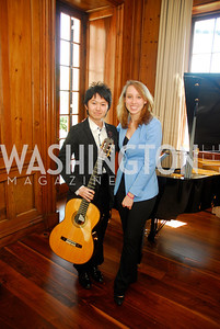Soichi Muraji,Char Prescott ,April 3,2012,S & R Foundation Headquarters  Overture Series Artist Meet And Greet,Kyle Samperton