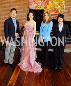 Shigeto Yamagishi,Maki Mori,Char Prescott,Soichi Muraji,April 3,2012,S & R Foundation Headquarters  Overture Series Artist Meet And Greet,Kyle Samperton
